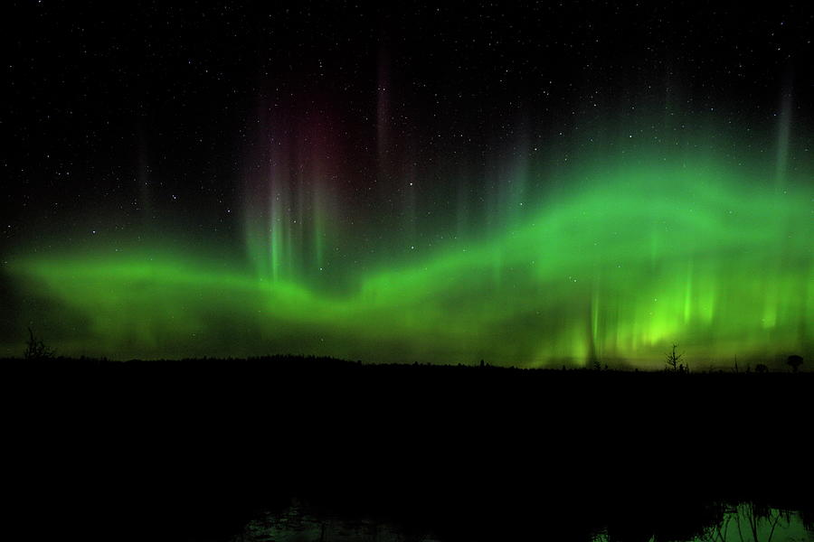 Flames In The Big Dipper by Dale Kauzlaric