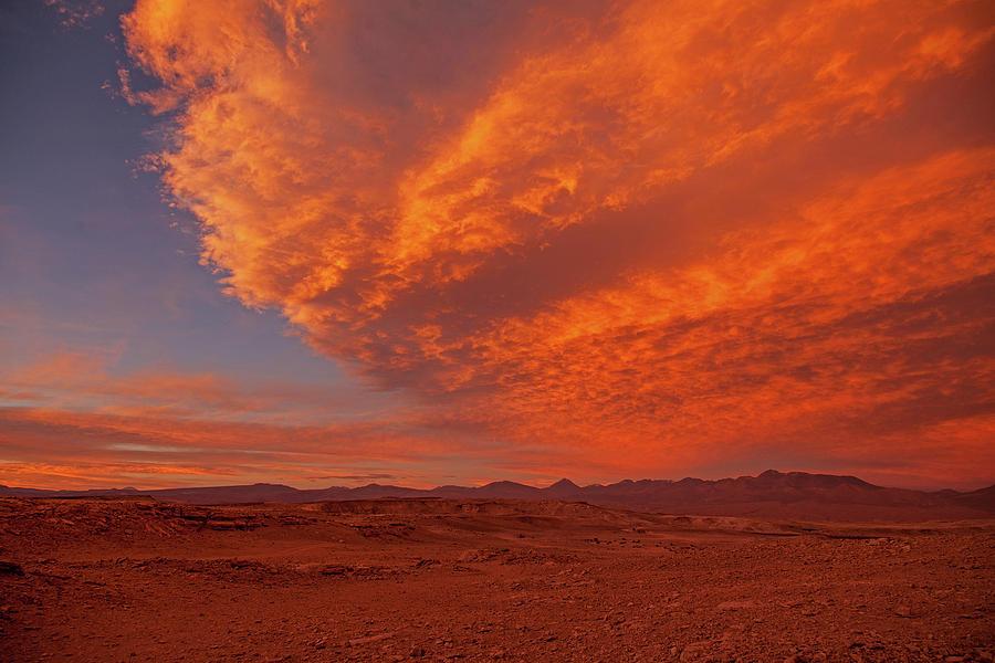 Flaming Skies by Stephen Dennstedt