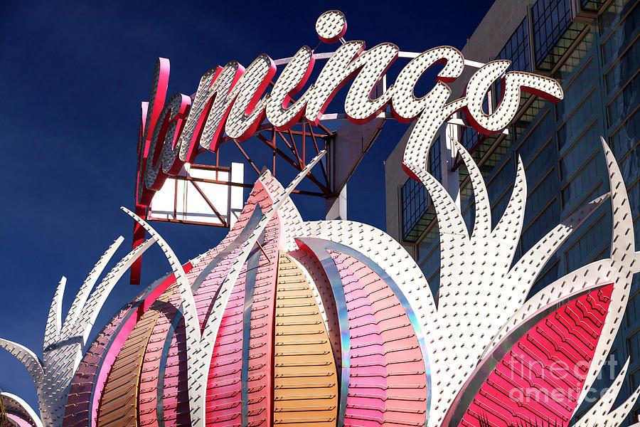 Flamingo Photograph - Flamingo Colors Las Vegas by John Rizzuto