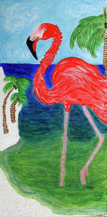 Flamingo Flash by Stephanie Agliano