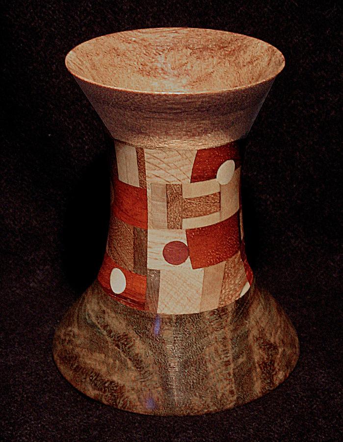 Turnings Sculpture - Flared Vessel by Chuck Turigliatto