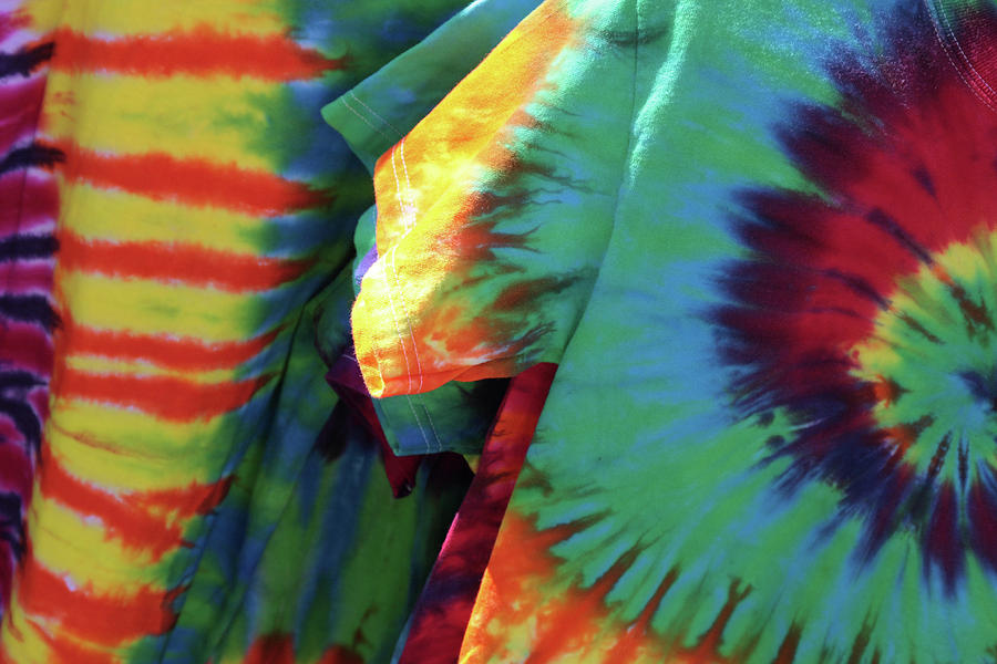 Tie Dye Photograph - Flashback by Rebecca Cozart