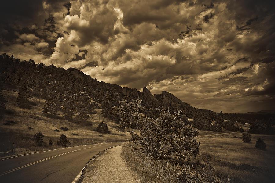 Boulder Colorado Photograph - Flat Irons by Patrick  Flynn
