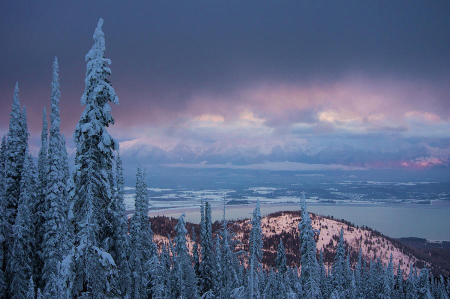 Flathead Lake Winter by Jedediah Hohf