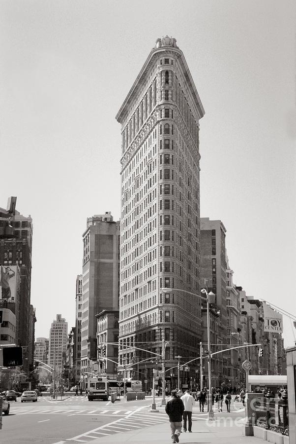 Architecture Photograph - Flatiron #2 by Lionel F Stevenson