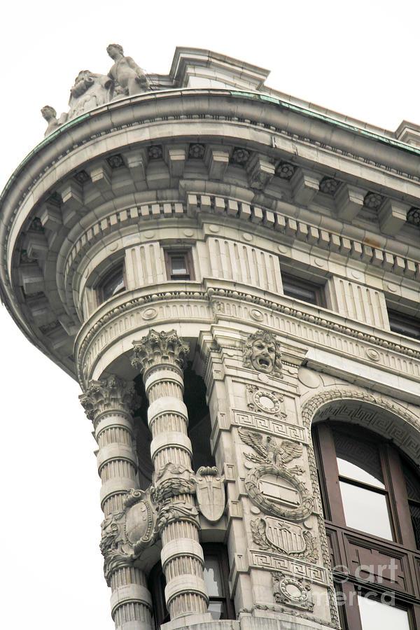 Flatiron Photograph - Flatiron Building Detail by David Bearden