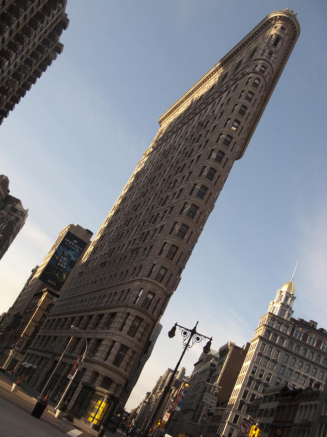 Sky Photograph - Flatiron No 2 by Dan Andersson