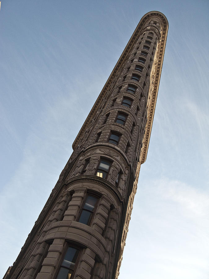 Sky Photograph - Flatiron No1 by Dan Andersson
