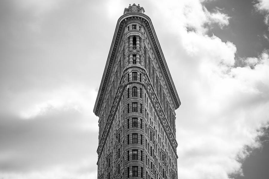 Nyc Photograph - Flatiron Skies by Robert J Caputo