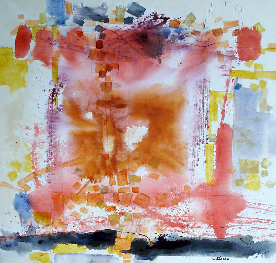 Abstract Painting - Flattery by Dale  Witherow
