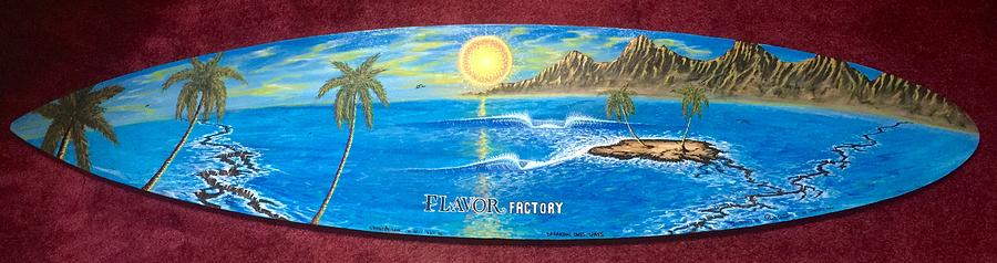 Flavor Factory Dream  Painting by Paul Carter