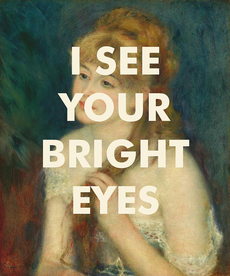 Art & Collectibles Digital Art - Fleetwood Mac Lyrics Print by Georgia Fowler