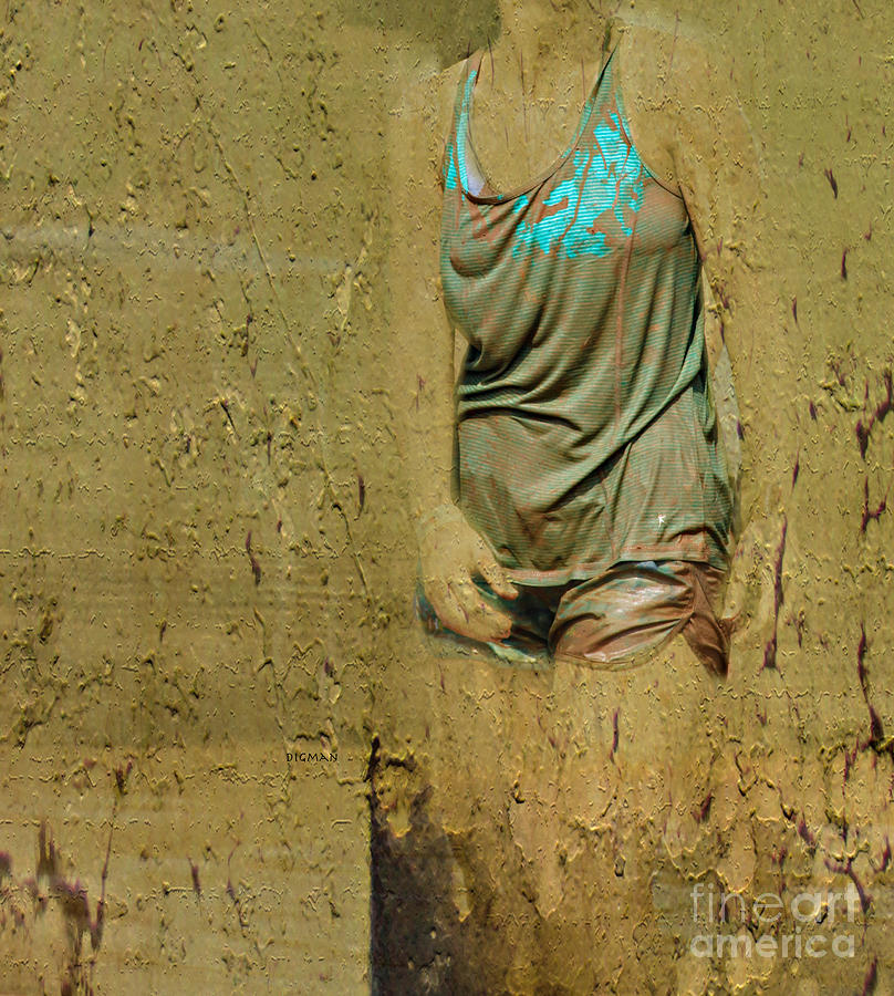 Beauty Photograph - Flesh And Mud  by Steven Digman