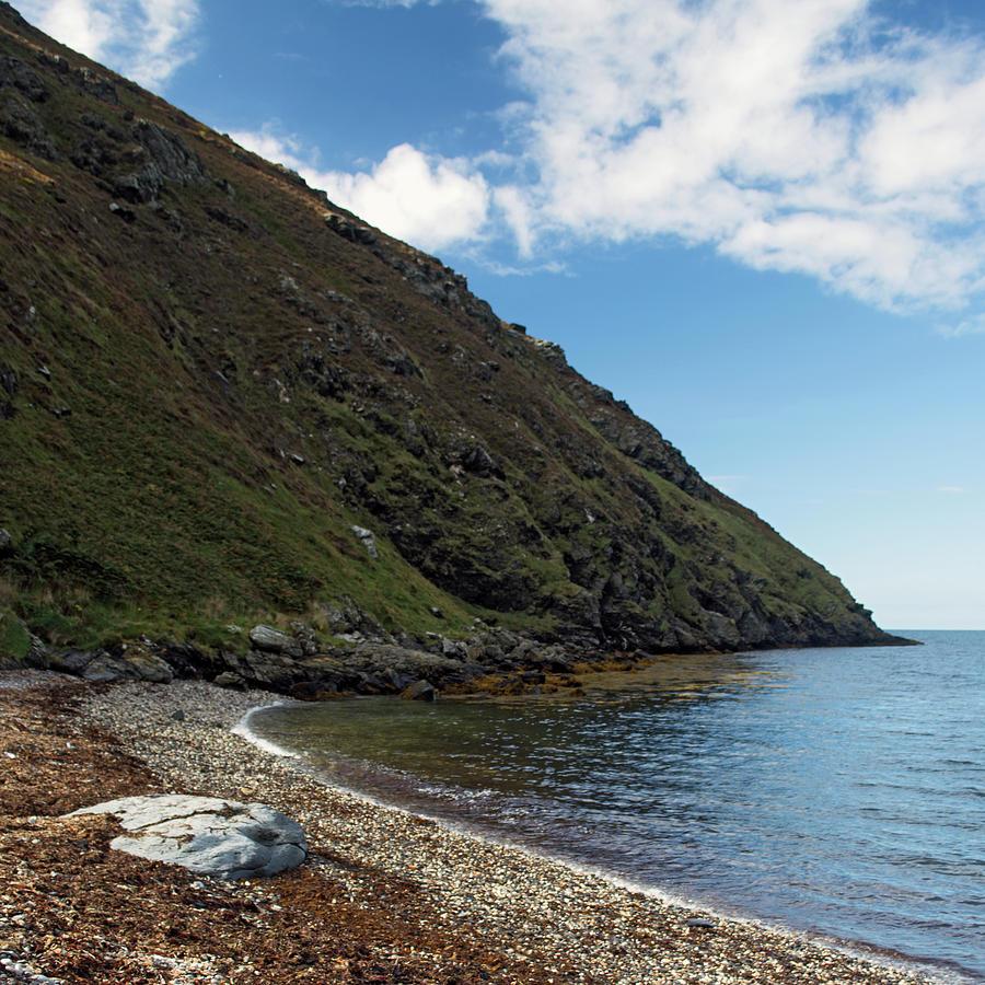 Sea Photograph - Fleshwick Bay by Steve Watson