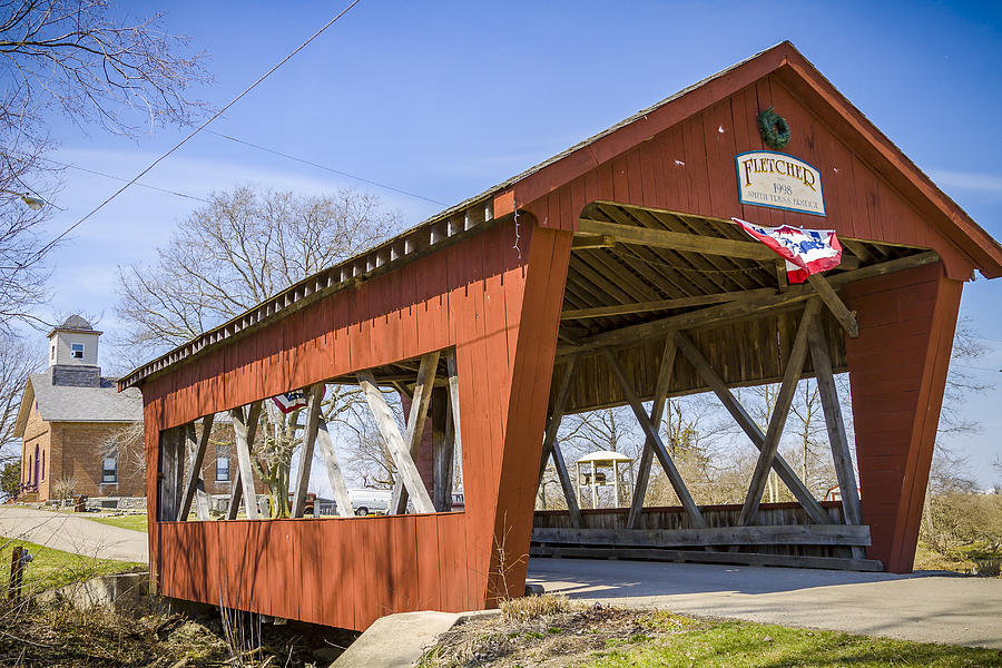 Fletcher Covered Bridge Photograph
