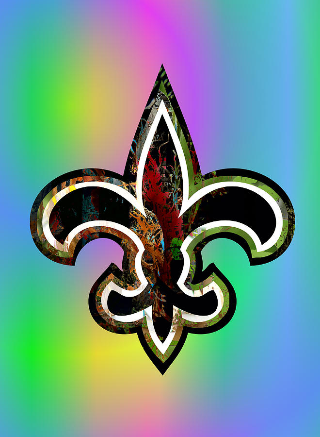 New Orleans Digital Art - Fleur De Lis by Daniel Hagerman