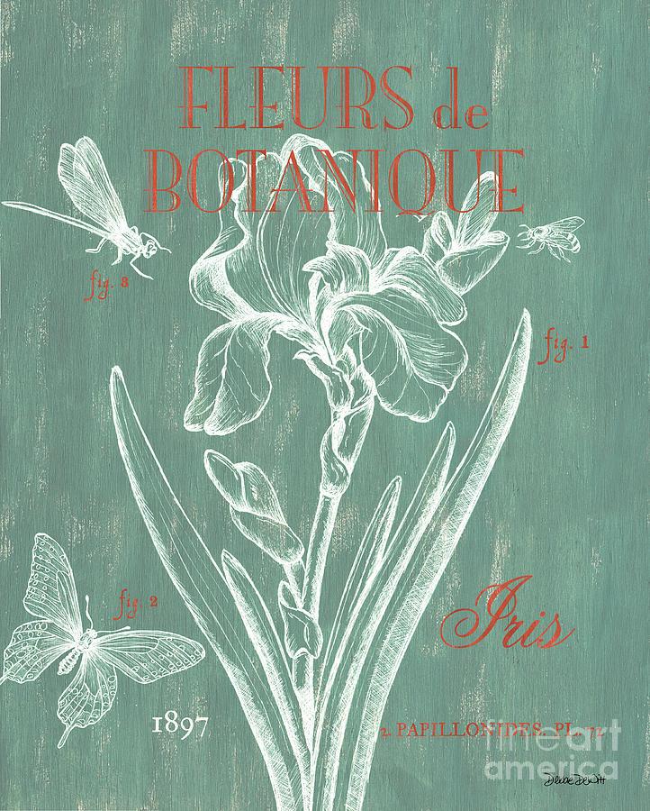 Floral Painting - Fleurs de Botanique by Debbie DeWitt
