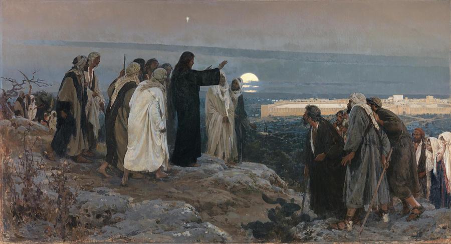 FLEVIT SUPER ILLAM Enrique Simonet Lombardo. Painting by Adam Asar
