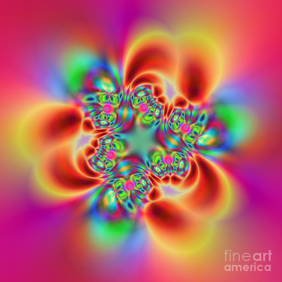 Colorful Digital Art - Flexibility 18bb by Rolf Bertram