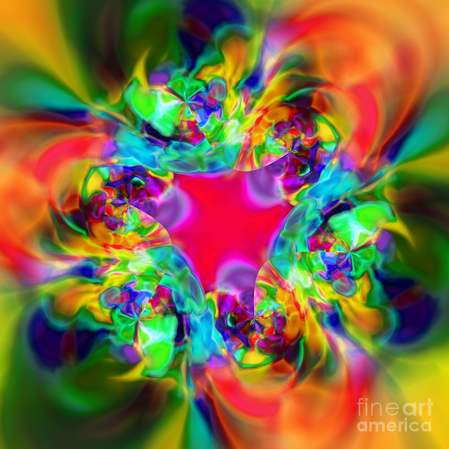 Zen Digital Art - Flexibility 20c by Rolf Bertram