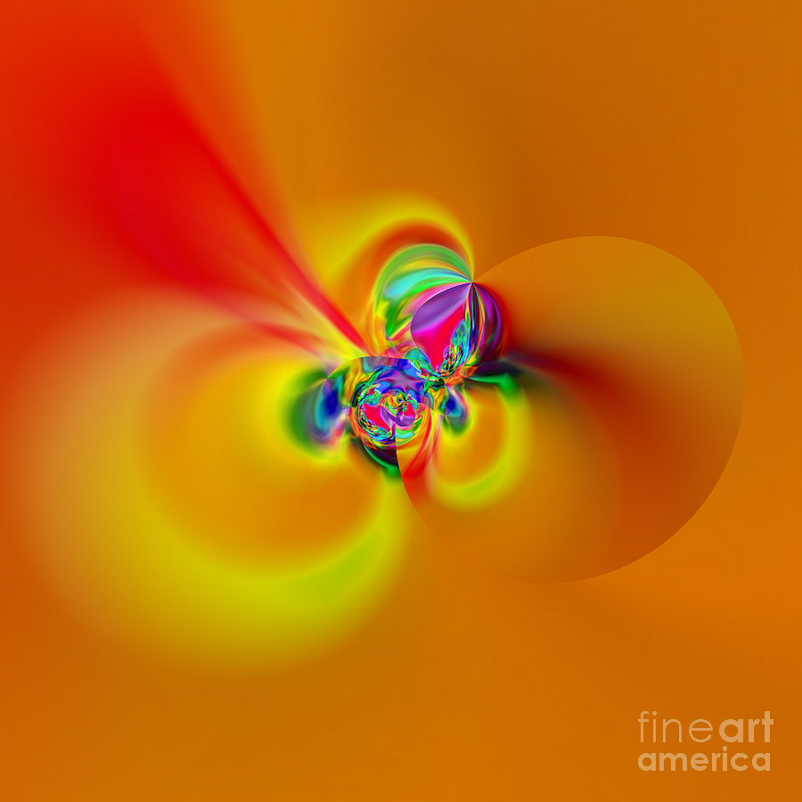Zen Digital Art - Flexibility 20caaa by Rolf Bertram