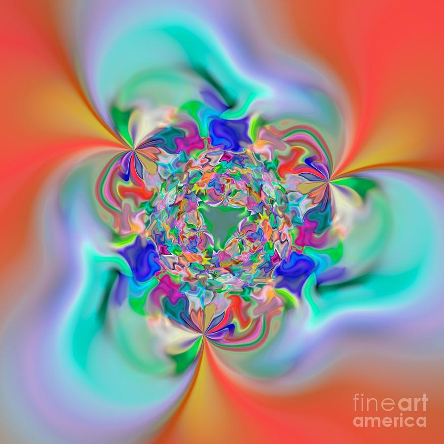Abstract Digital Art - Flexibility 32e by Rolf Bertram