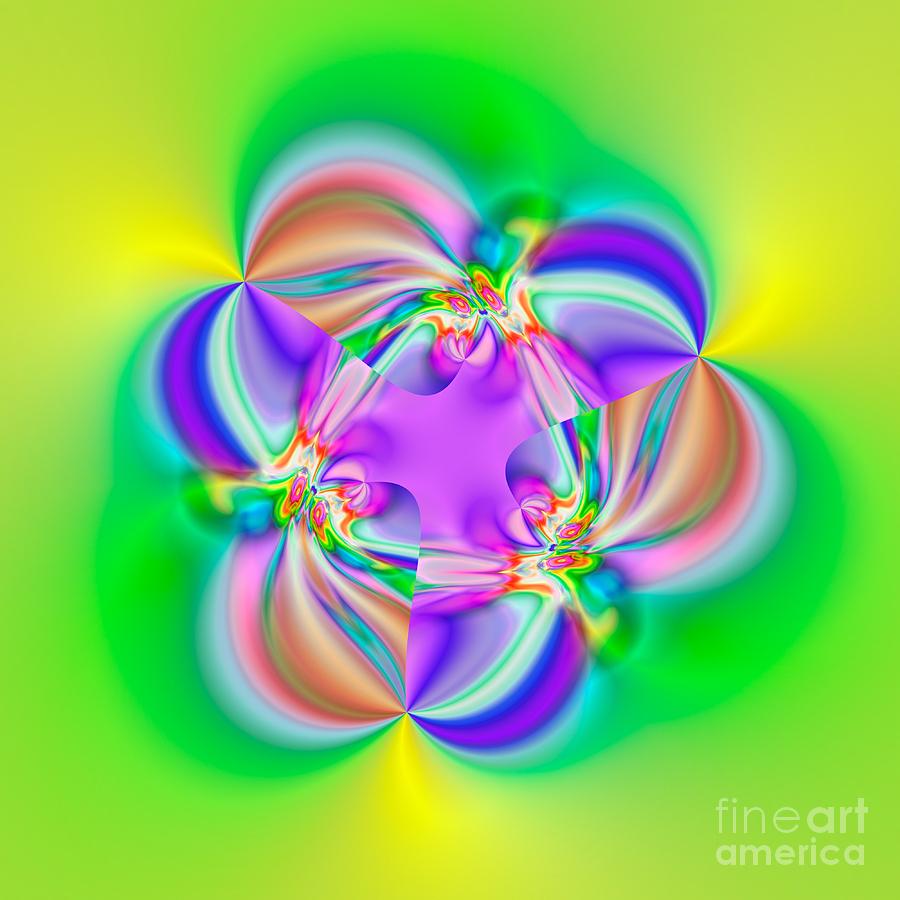 Abstract Digital Art - Flexibility 39b1a by Rolf Bertram
