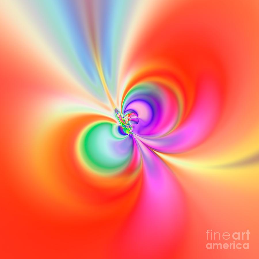 Abstract Digital Art - Flexibility 39b1aa by Rolf Bertram