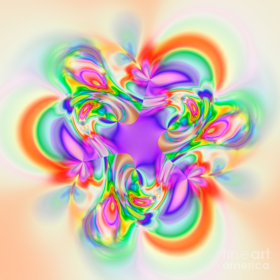 Abstract Digital Art - Flexibility 39b1b by Rolf Bertram