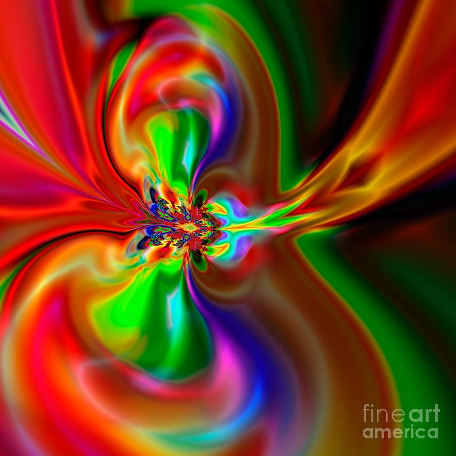 Abstract Digital Art - Flexibility 49fa by Rolf Bertram