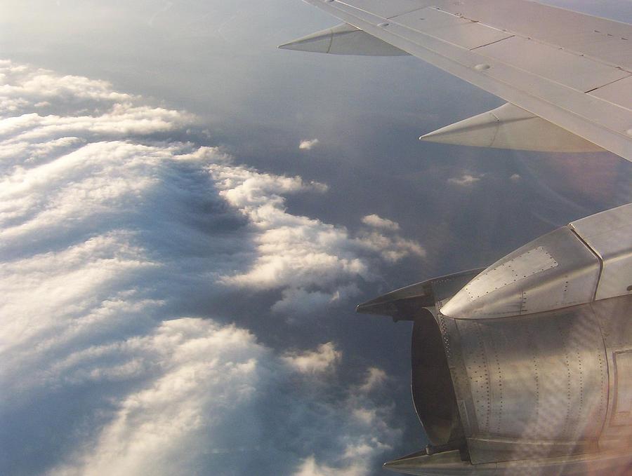 Sky Photograph - Flight by Adam Schwartz