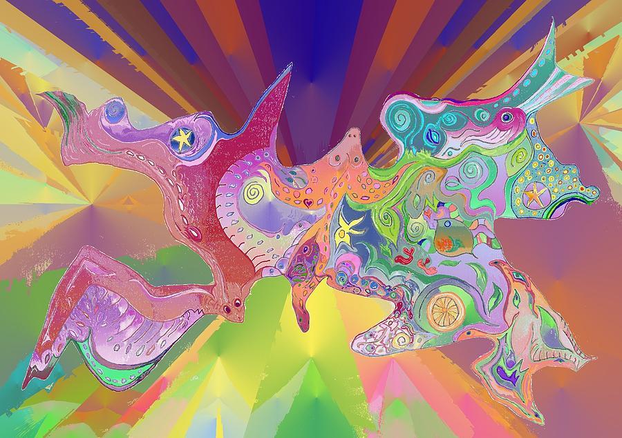 Flight of Evolution by Julia Woodman