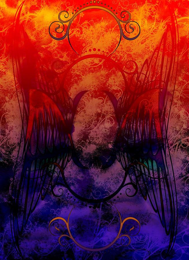 Flight Digital Art - Flight Of The Phoenix by Christopher Sprinkle