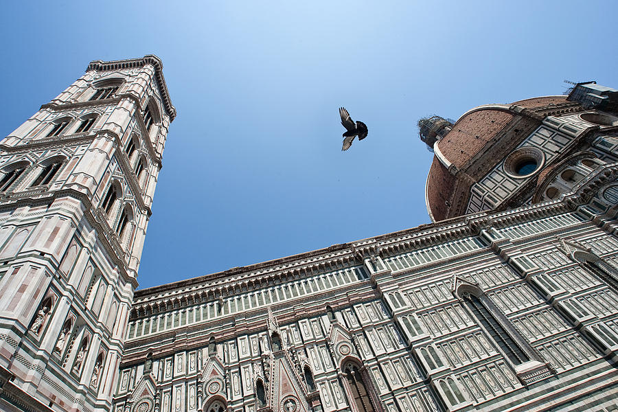 Flight Over Duomo by Mark Currier