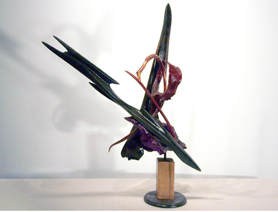 Caricatures Sculpture - Flight by Ralph Levesque