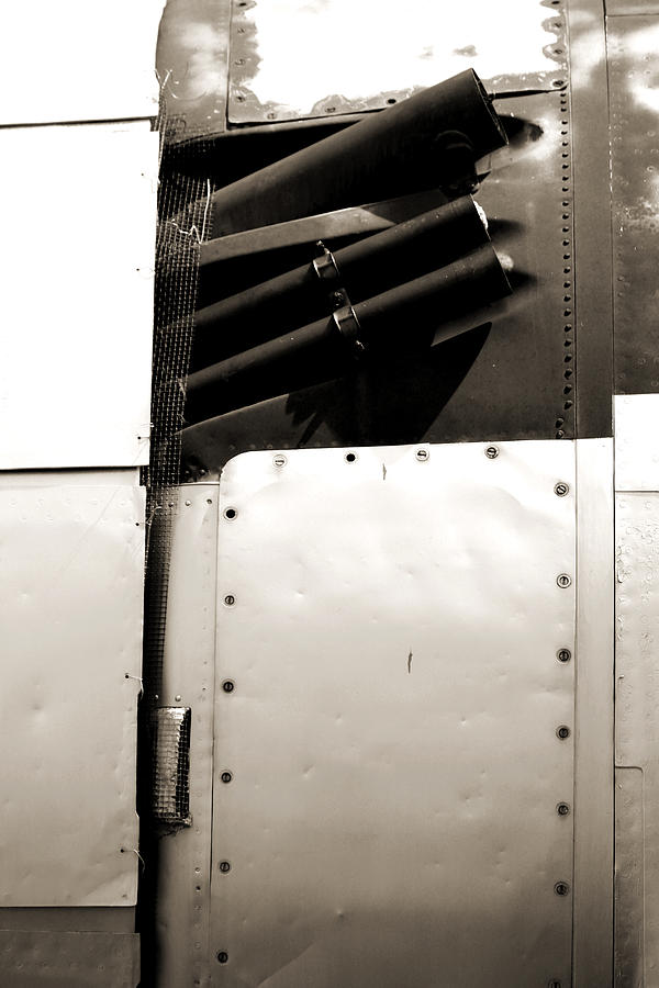 Flighter Plane Rivets by Jackie Farnsworth