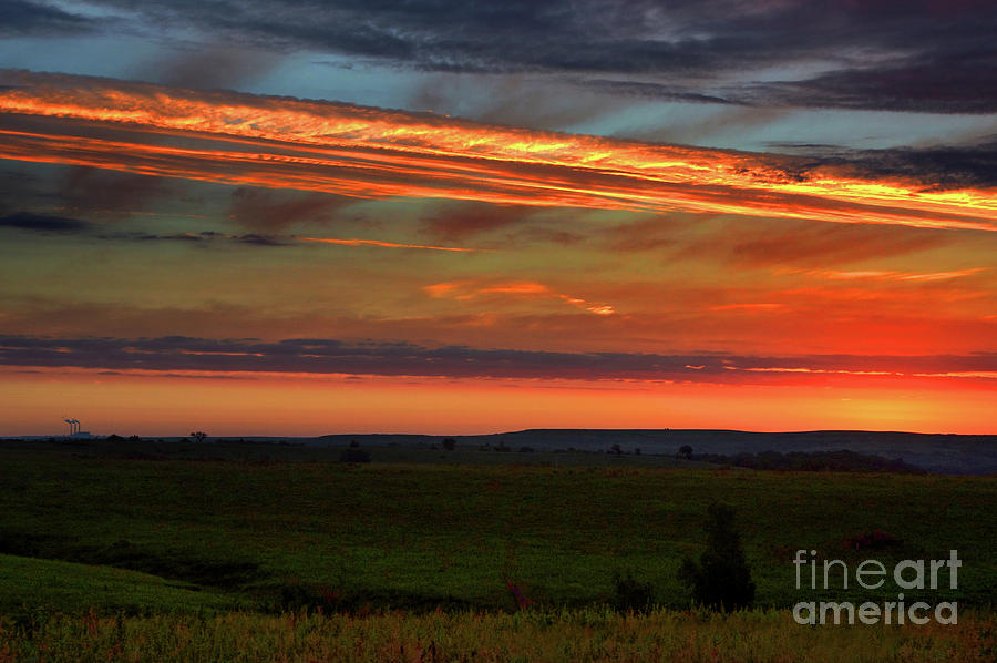 Flint Hills Sunrise Photograph
