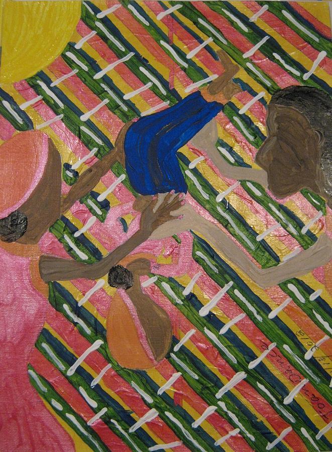 Flip Painting by Joan Dance