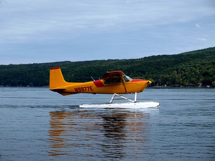 Hammondsport Photograph - Float Plane Two by Joshua House