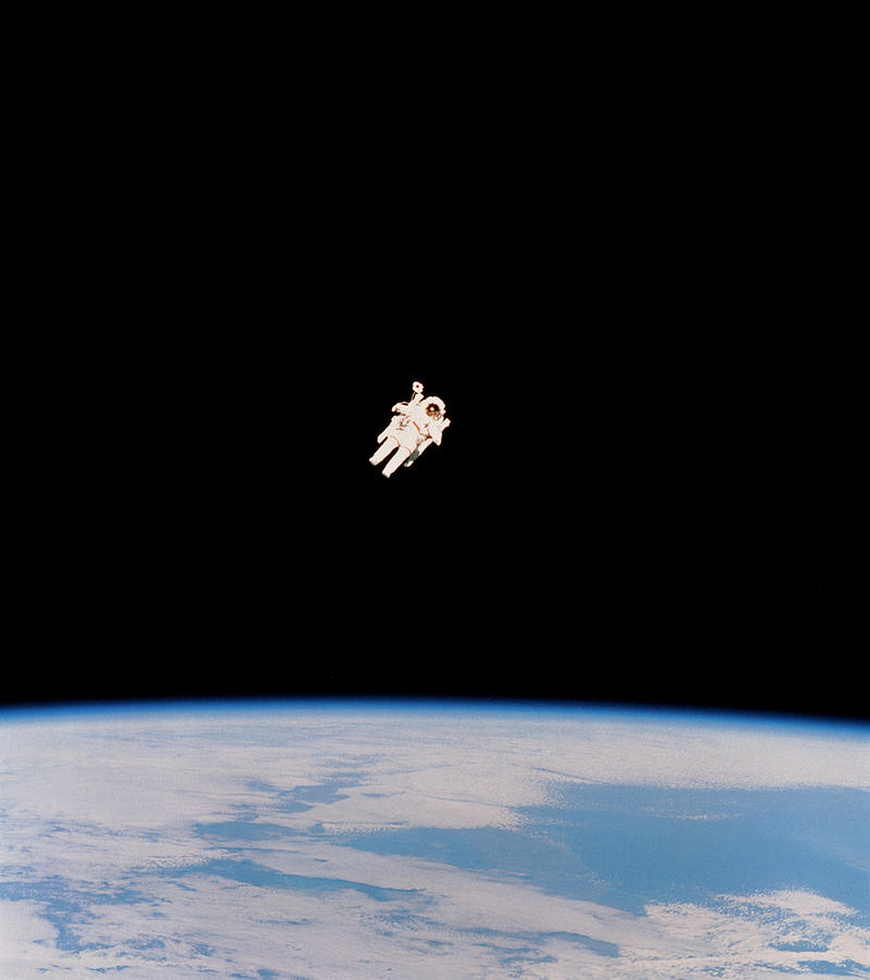 Floating Astronaut Photograph By Nasa