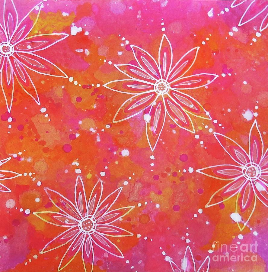Floating Flowers by Desiree Paquette