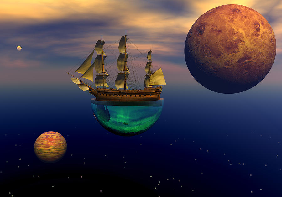 Floating On A Dream Digital Art by Claude McCoy