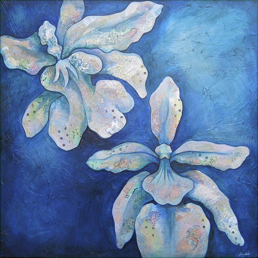 Floating Orchid Painting