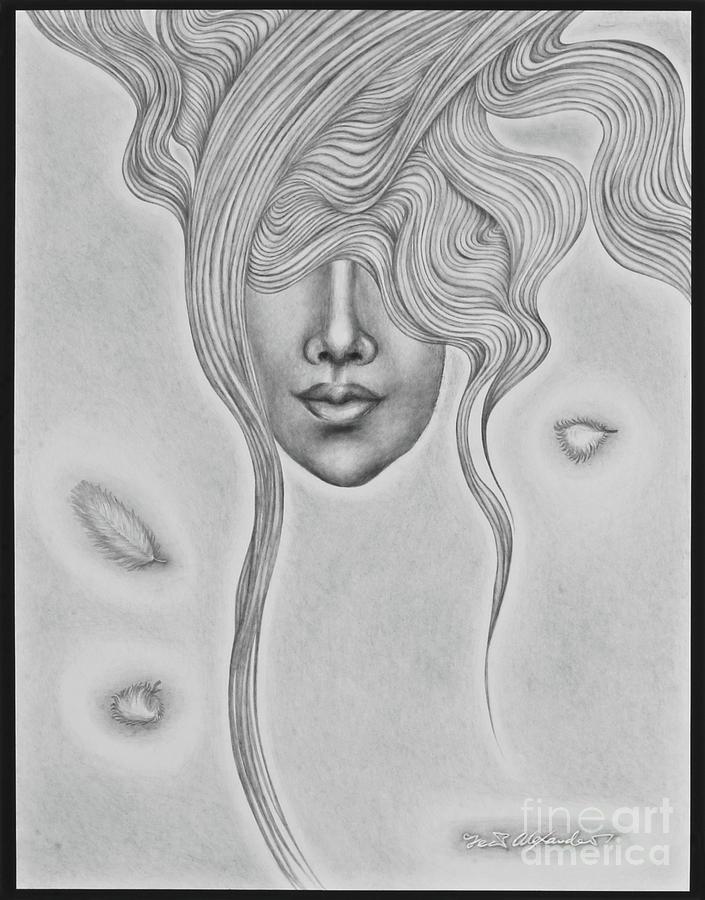 Floating Sorrow Drawing