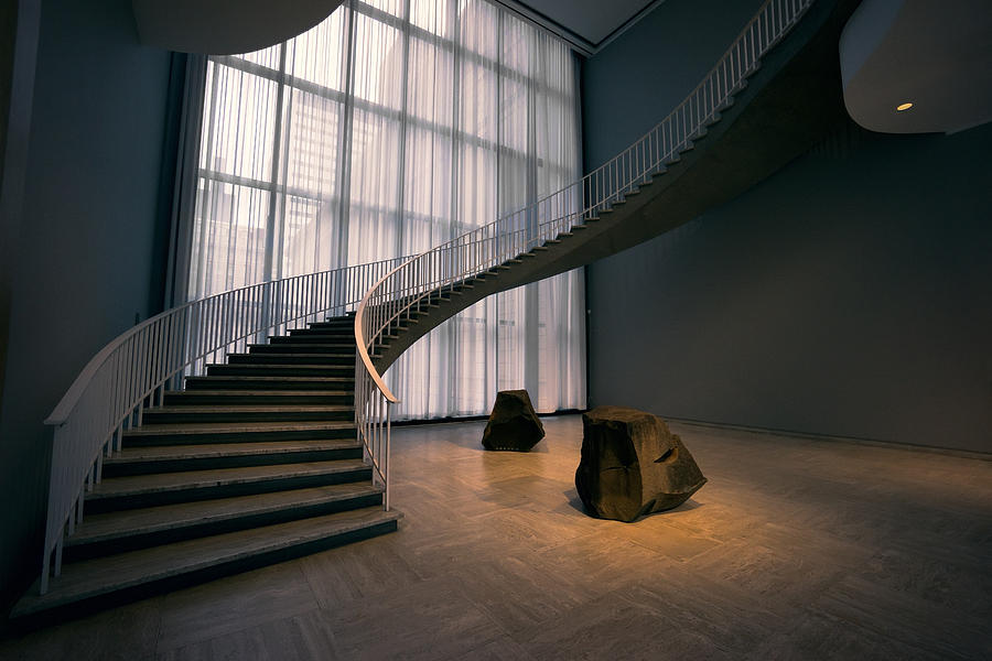 Chicago Photograph   Floating Spiral Staircase Of Chicago Art Institute By  Daniel Hagerman