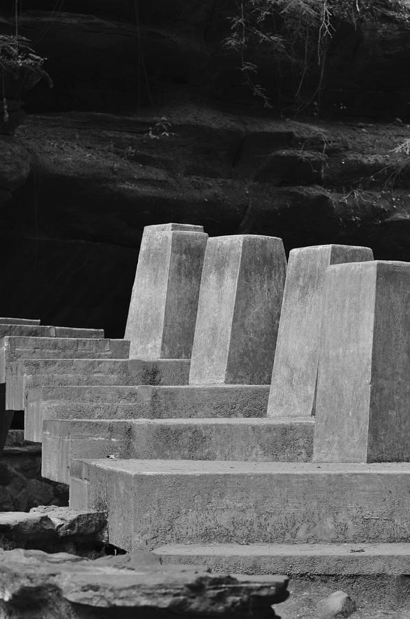 Staircase Photograph - Floating Stone Staircase by Peter  McIntosh