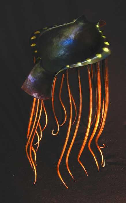 Floating Vessel Sculpture by Todd Malenke