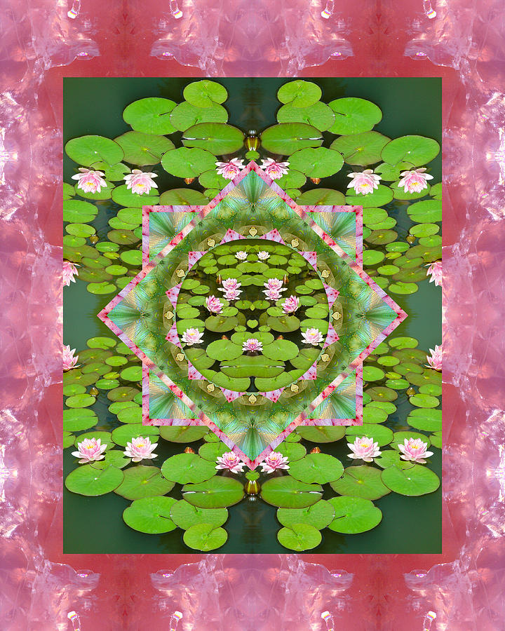 Mandalas Photograph - Floating World by Bell And Todd