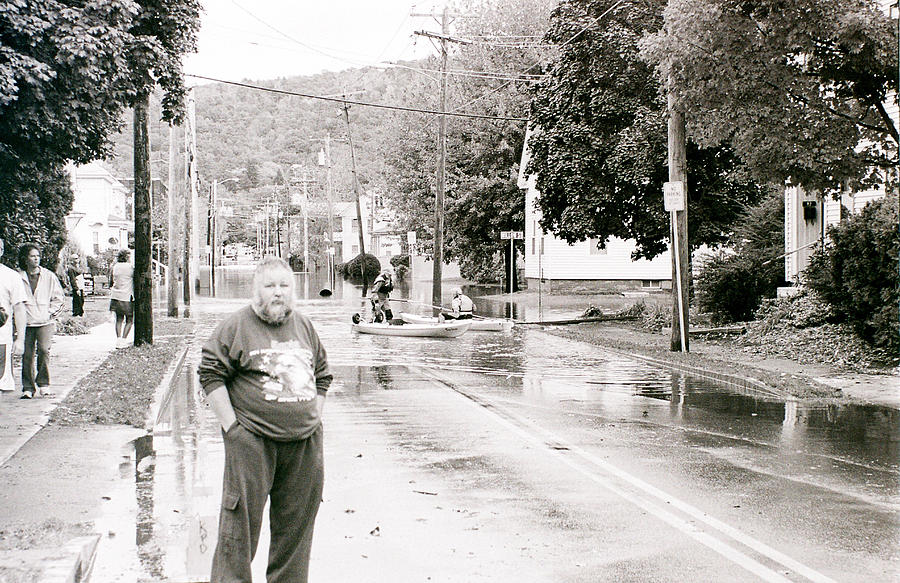 Flood Photograph - Flooded Streets Of Despair by Jeff Porter