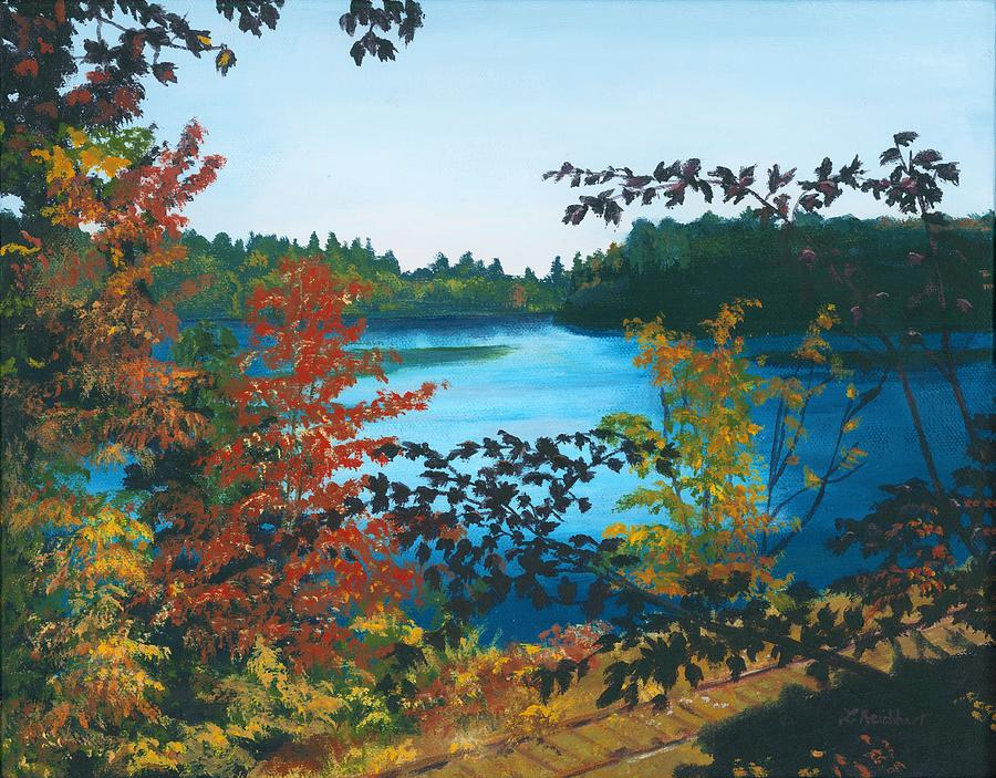Floodwood Painting - Floodwood by Lynne Reichhart